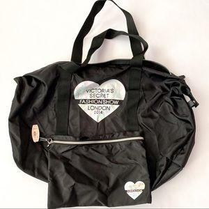 NWT Victoria 's Secret Fashion Show Gym bag